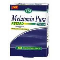 MELATONINA PURA RETARD 1.9MG 60CAP ESI