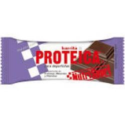 BARRITAS PROTEICA CHOCOLATE NUTRISPORT