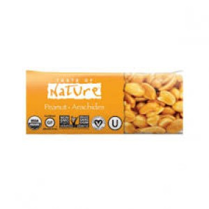 BARRITAS CACAHUETE 40GR TASTE OF NATURE