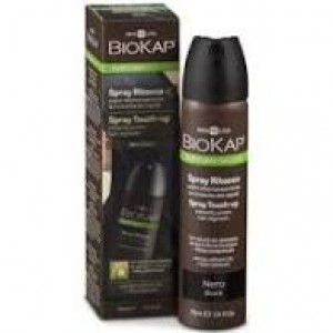 SPRAY RETOQUE NEGRO 75ML BIOKAP