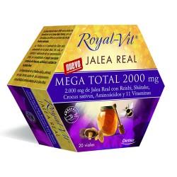 JALEA REAL ROYAL VIT MEGA TOTAL 2000 20 VIALES DIETISA