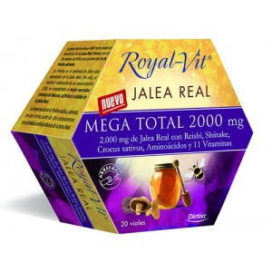 JALEA REAL ROYAL VIT MEGA TOTAL 2000 20 VIALES DIETISA