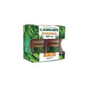 CANNABIS STRONG 1000MG 30+30 PERLAS NOVITY