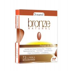 BRONZE NATURAL 30PERLAS DRASANVI