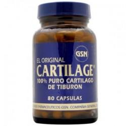 CARTILAGO TIBURON 740MG 80CAP GSN