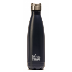 BOTELLA BBO ACERO INOXIDABLE 500ML AZUL OSCURO IRISANA