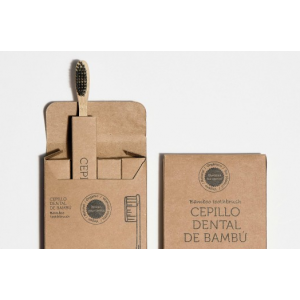 CEPILLO DENTAL BAMBU CON CARBÓN ACTIVO IRISANA