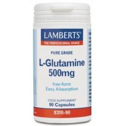 L GLUTAMINA 500MG 90CAP LAMBERTS