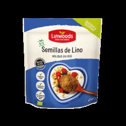 SEMILLAS DE LINO MOLIDO 425GR LINWOODS