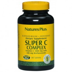 VITAMINA SUPER C COMPLEX 60 COMPLEX 60 COMPRIMIDOS NATURE'S PLUS