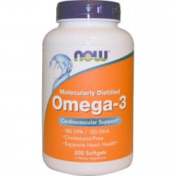 OMEGA 3 1000MG 200PERLAS NOW