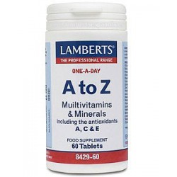 A TO Z MULTIVITAMINAS Y MINERALES 60TAB LAMBERTS