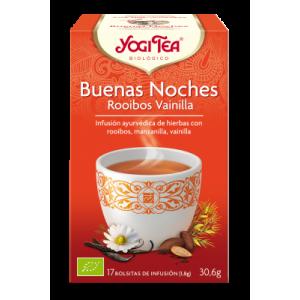 YOGI TEA BUENAS NOCHES 17 FILTROS