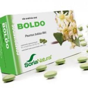BOLDO 600MG 60COMP SORIA NATURAL
