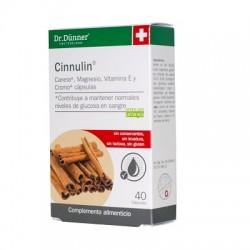 CINNULIN CANELA 40COMP DR DUNNER