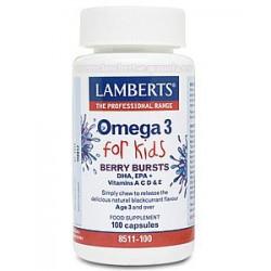 OMEGA 3 FOR KIDS 100 PERLAS LAMBERTS