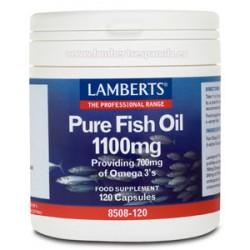 PURE FISH OIL 1100MG 120CAP LAMBERTS