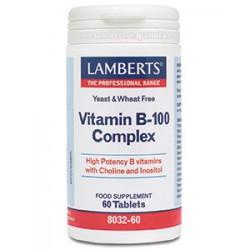 VITAMINA B 100 COMPLEX 60TAB LAMBERTS