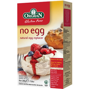 NO EGG 200GR ORGRAN