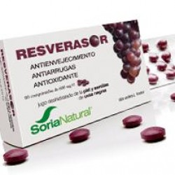 RESVERASOR 600MG 60COMP SORIA NATURAL
