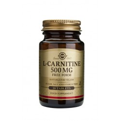 L CARNITINA 500MG 30COMP SOLGAR