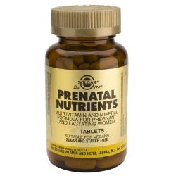 NUTRIENTES PRENATALES 60COMP SOLGAR