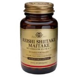 REISHI SHIITAKE MAITAKE 50CAP SOLGAR