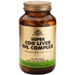 SUPER COD LIVER OIL COMPLEX 60CAP SOLGAR