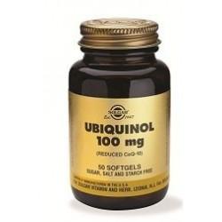 UBIQUINOL 100MG 50CAP SOLGAR