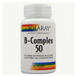 VITAMINA B 50 50CAP SOLARAY