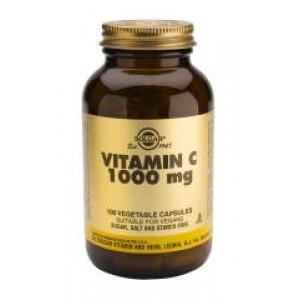 VITAMINA C 1000MG 100CAP SOLGAR
