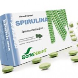 SPIRULINA 600MG 60COMP SORIA NATURAL