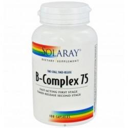 VITAMINA B 75 COMPLEX 100CAP SOLARAY