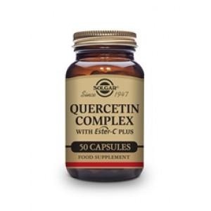 QUERCITINA COMPLEX CON ESTER-C PLUS 50 CÁPSULAS VEGETALES SOLGAR