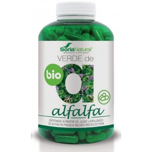 VERDE ALFALFA BIO 630MG 240COMP SORIA NATURAL