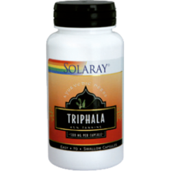 TRIPHALA 500MG 60CAP SOLARAY