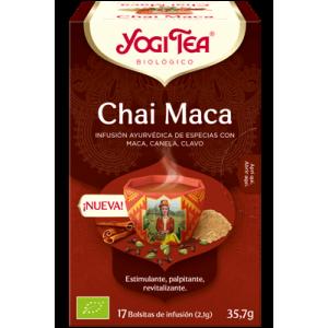 YOGI TEA CHAI MACA 17FILTROS BIO YOGI TEA