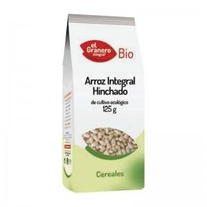 ARROZ INTEGRAL HINCHADO 125GR EL GRANERO INTEGRAL