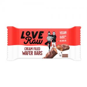 WAFER BARS CHOCO  Y AVELLANAS LOVE RAW
