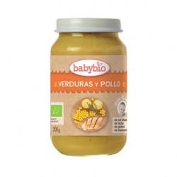 POTITO VERDURAS Y POLLO 200GR BABYBIO