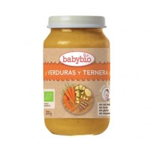 POTITO VERDURAS Y TERNERA BIO 200GR BABYBIO